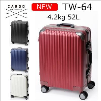 6d174d5246 トリオ カーゴ TW-64 52L フレームタイプ TSAロータリーロック QUOカード500円付き ...