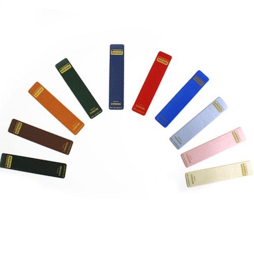 皮革調くっつきしおり デザイン文具 事務用品 製図 法人 領収書 ギフト プレゼント ラッピング
